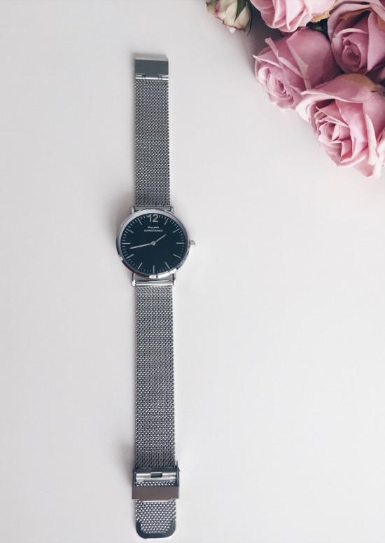 Black - Silver Watch Harris