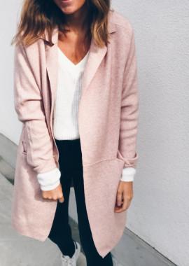 Powdered pink Jacket - Cardigan Axelle