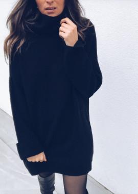 Robe-pull Elyne noir