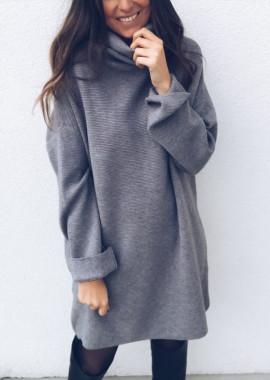 Grey Sweater dress Elyne