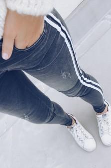 Jeans Leny gris
