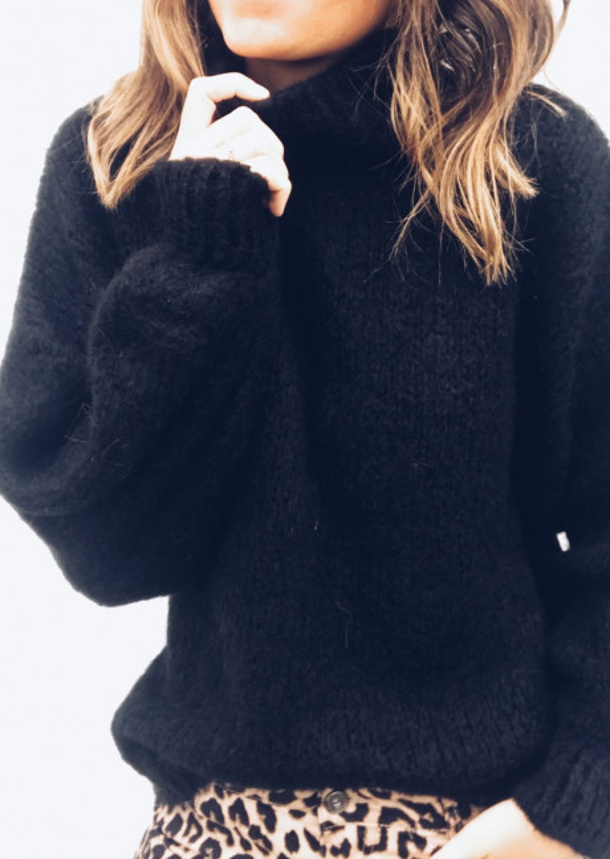 Pull Colette noir