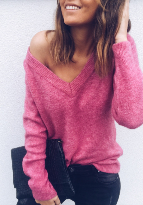 Pink Pullover Kath