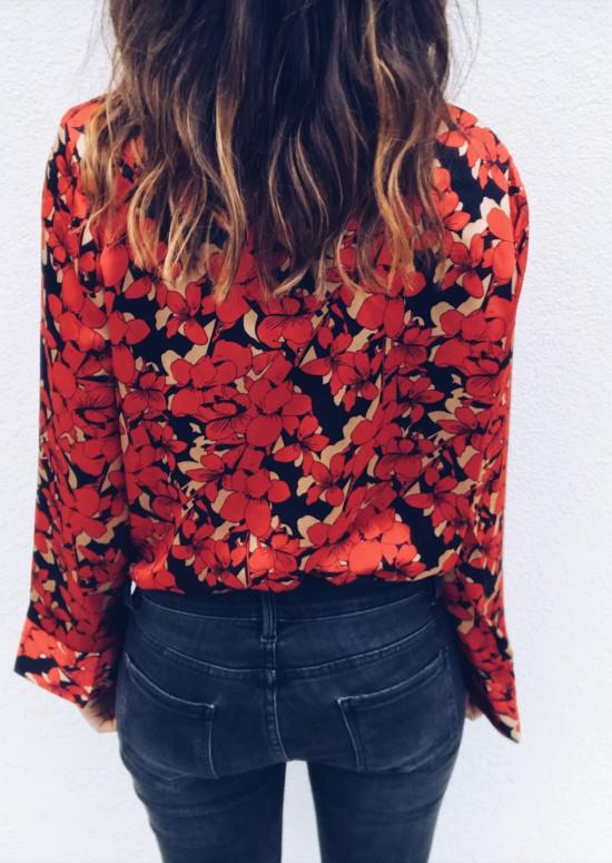 Red Bodysuit Maëlle