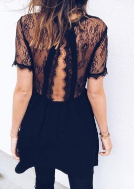 Robe Léonie noire
