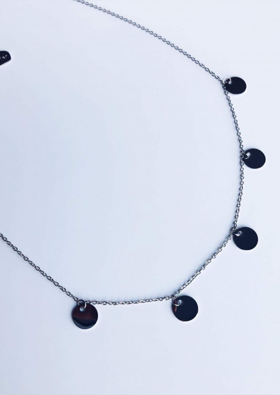 Silver Necklace Noren