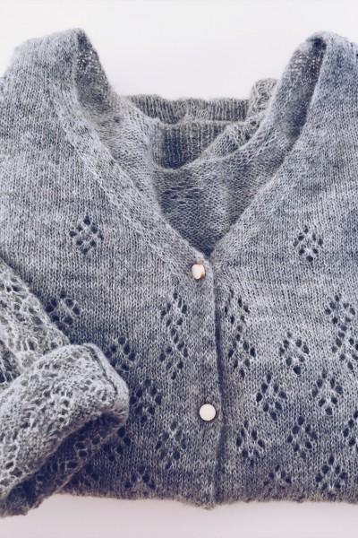 Pull-Gilet Solène gris