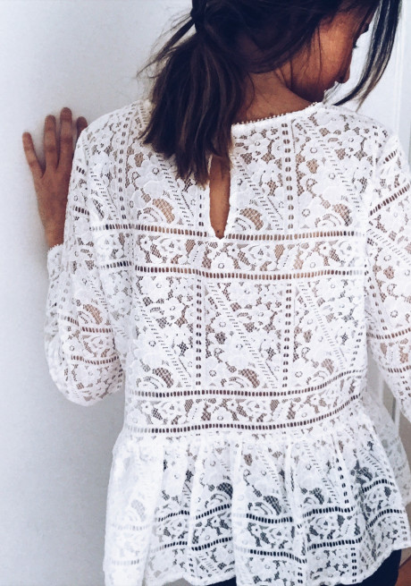 Blouse Liby blanche