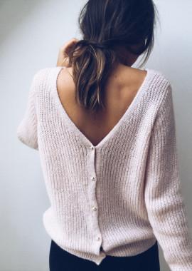 Light pink Pullover Lina