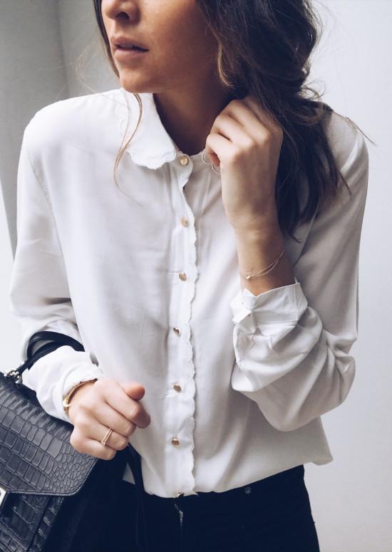 Chemise Heidi blanche