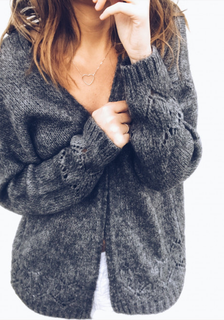 Gilet Betsy gris