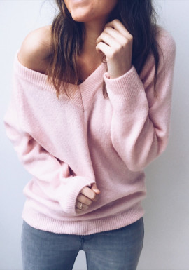 Pale pink Pullover Kath