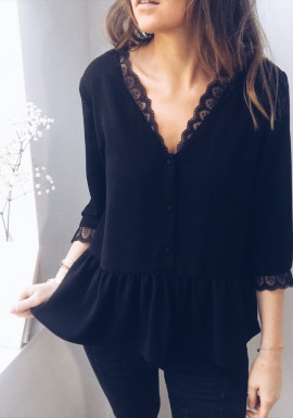 Black Blouse Ariane