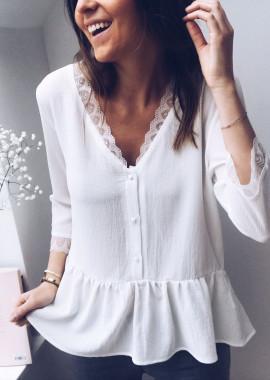 White Blouse Ariane