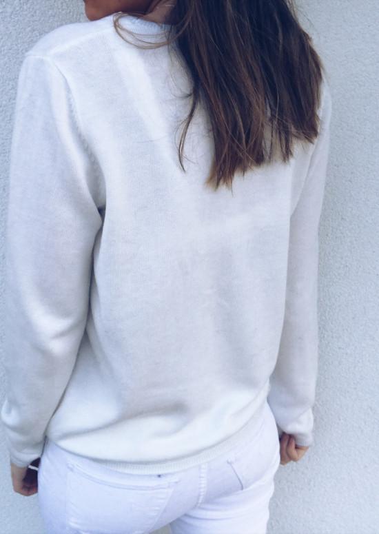 Gilet Aude blanc