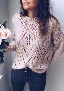 Pale pink Pullover Lanver