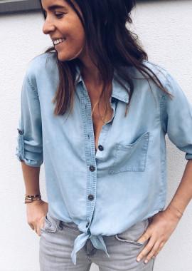 Chemise Céline bleu jeans