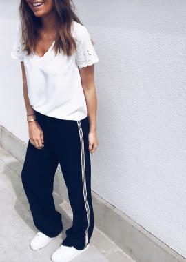 Pantalon Vic bleu foncé