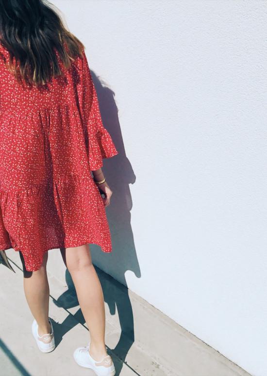 Robe Mya rouge
