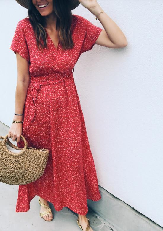 Robe Serena rouge