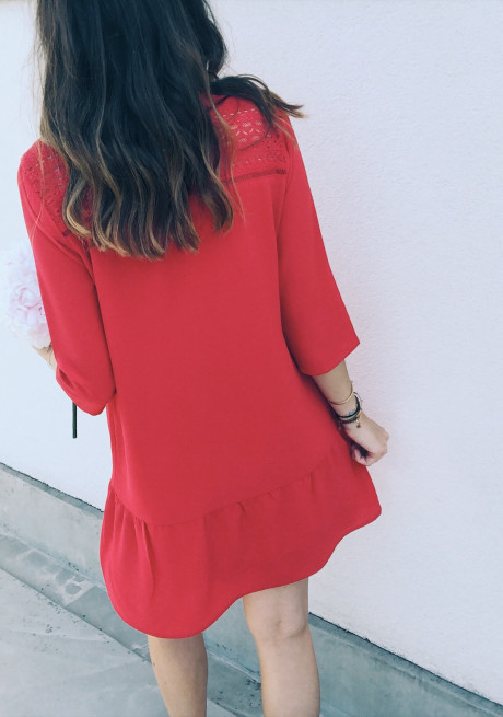 Robe Esther rouge