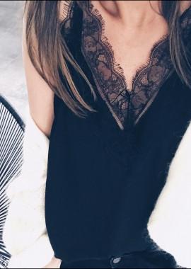 Top Pietra noir