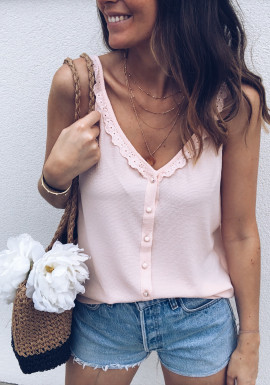 Pale pink Top Gaëlle