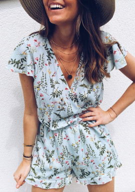 Green water Playsuit Fauve