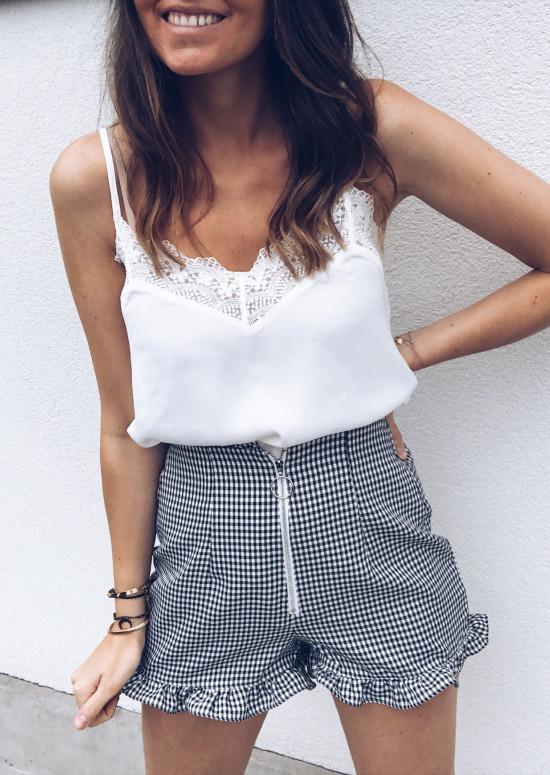 Top Paulina blanc