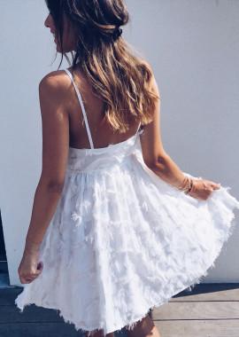 Robe Aurora blanche