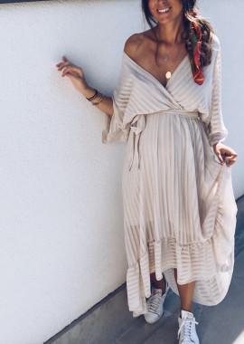 Robe Rosaly beige