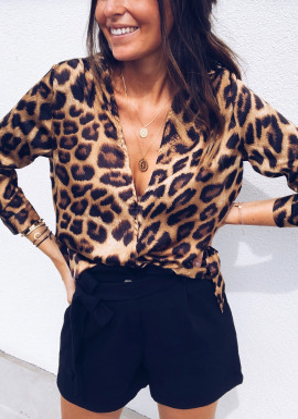 Blouse leopard Béo