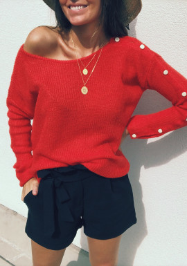 Red Pullover Dollorès