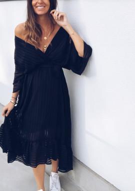 Robe Rosaly noire