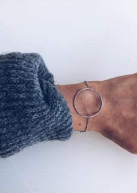 Silver Bracelet Circle
