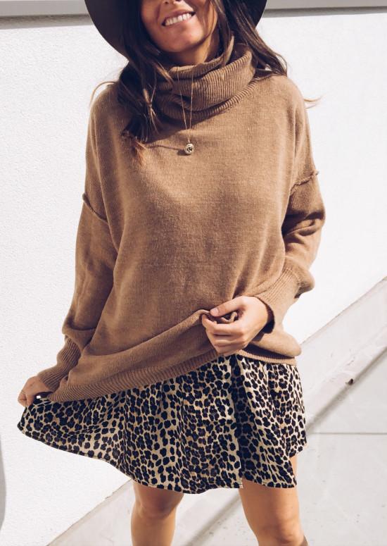 Robe-tunique Aviva léopard