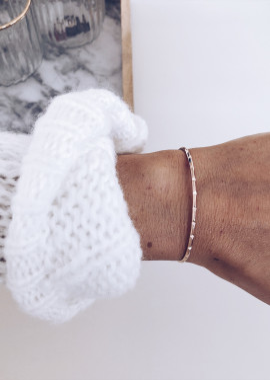 Bracelet Bastin rosé