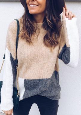 Beige Pullover Joris