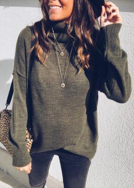 Khaki Pullover Carl