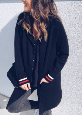Black Jacket - Cardigan Noa
