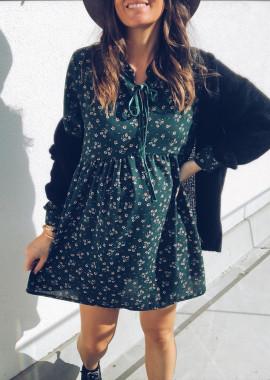 Green Dress Peline