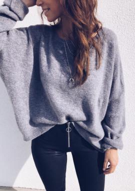 Grey Pullover Oscar