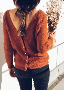 Brick Cardigan - Pullover Polo