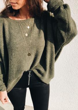 Khaki Pullover Oscar