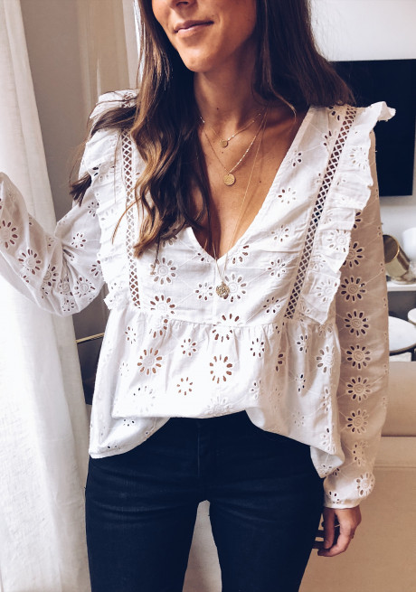 White Blouse Penny