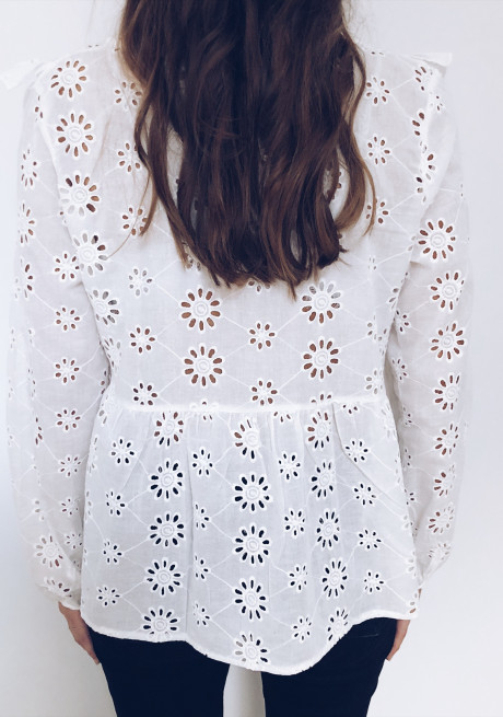 Blouse Penny blanche