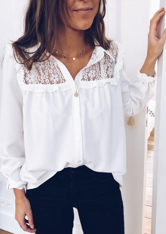 White Shirt Laura