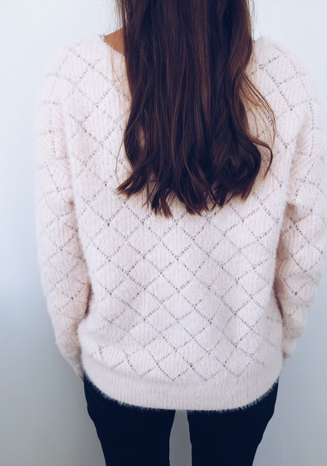 Pink Pullover - Cardigan Debby