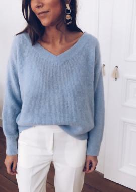 Sky blue Pullover Elana
