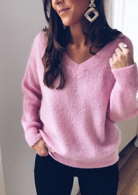 Pink Pullover Elana